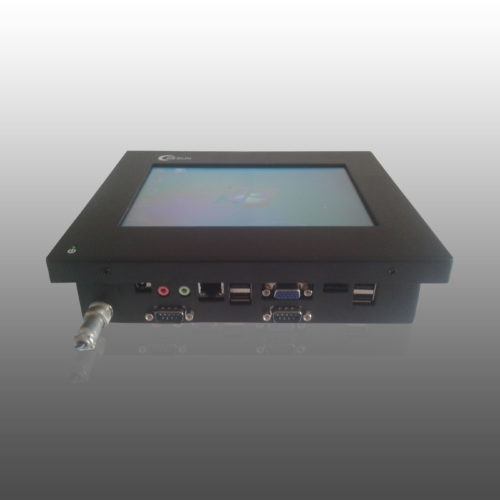 8 inch fanless panel pc