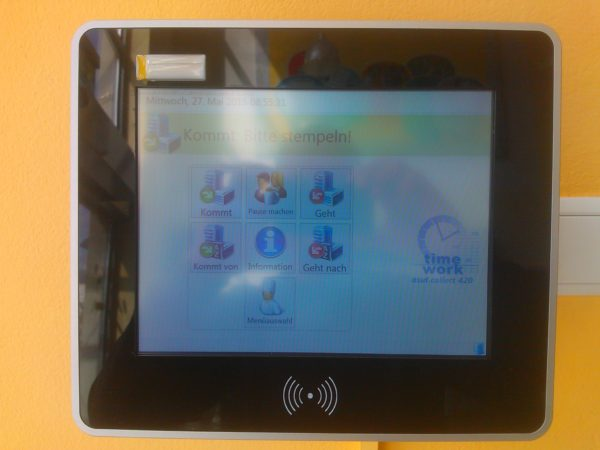 RFID touch screen terminal