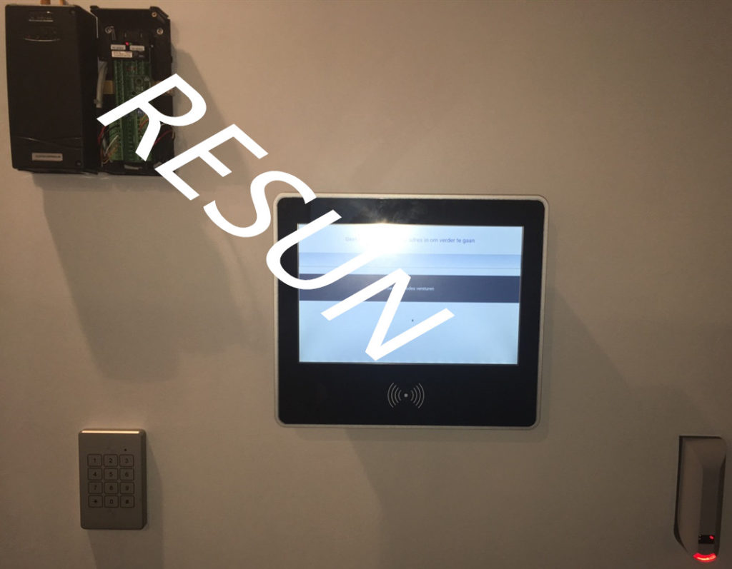 RFID time and attendance terminal