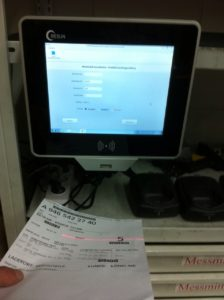 panel pc with RFID and scanner