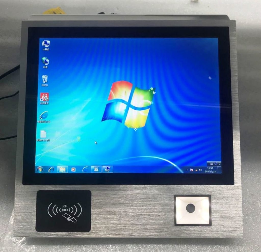 panel pc with scanner