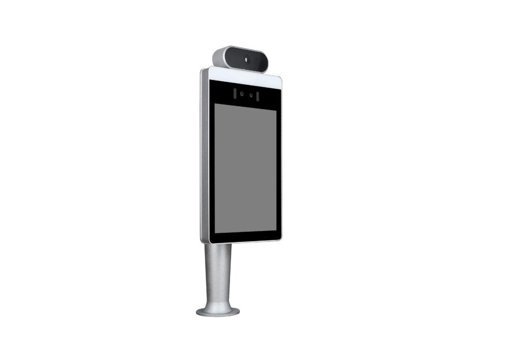 Face recognition temperature measurement terminal