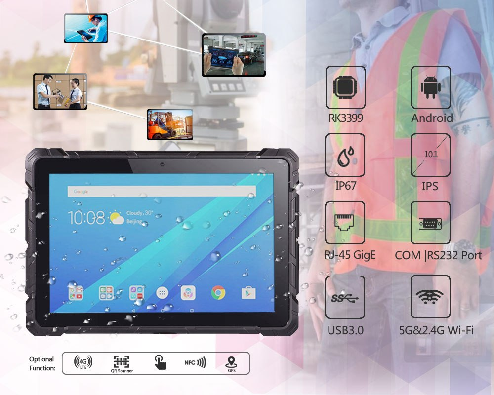 Android Rugged Tablet PC